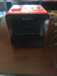 Red and black sony portable radio Castroville, 93907