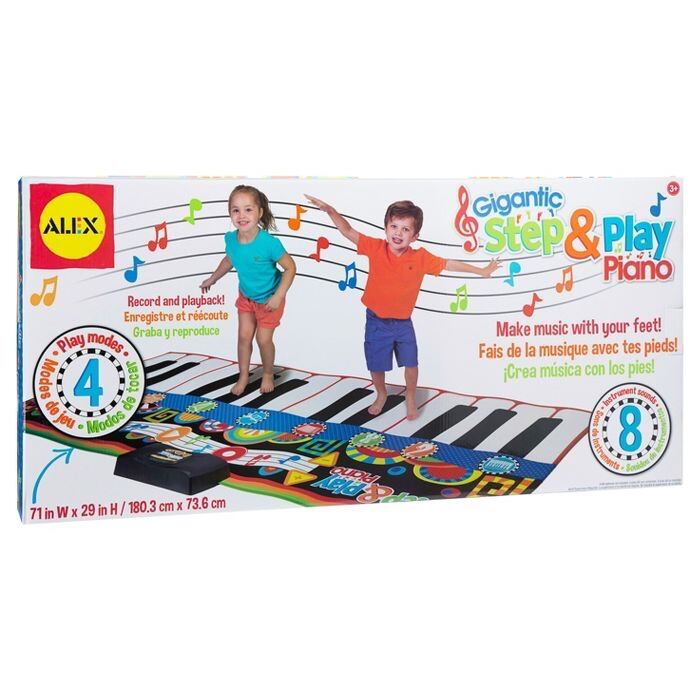 Alex Toys Gigantic Step And Play Piano!!