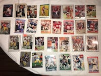 NFL old football Collectable Cards all different type, Troy,  Chesnee, 29323