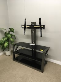 black wooden TV stand with mount Abbotsford, V2T 2H4