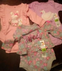 0-3month Baby Girl Shirts Baltimore, 21230