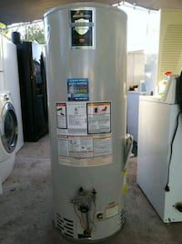 Gas water heater 50 gollons capacity