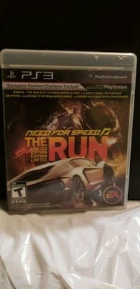 Ps3 the run need for speed  Sainte-Catherine, J5C 1E9