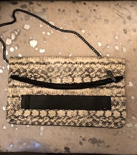 Vince Camuto black/white croco purse Markham, L3P 1E1