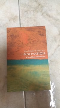 Innovation Book- Oxford press  Rovello Porro, 22070