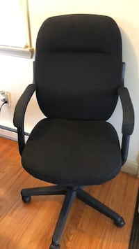 Black  desk chair Frederick, 21704