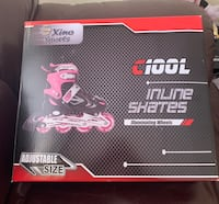 XinoSports Inline Roller Skates with Light Up Illuminating Wheels, for Growing Girls and Boys Ages 5-20 Torrance, 90505