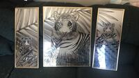 Tiger momma and cubs picture mirrors
