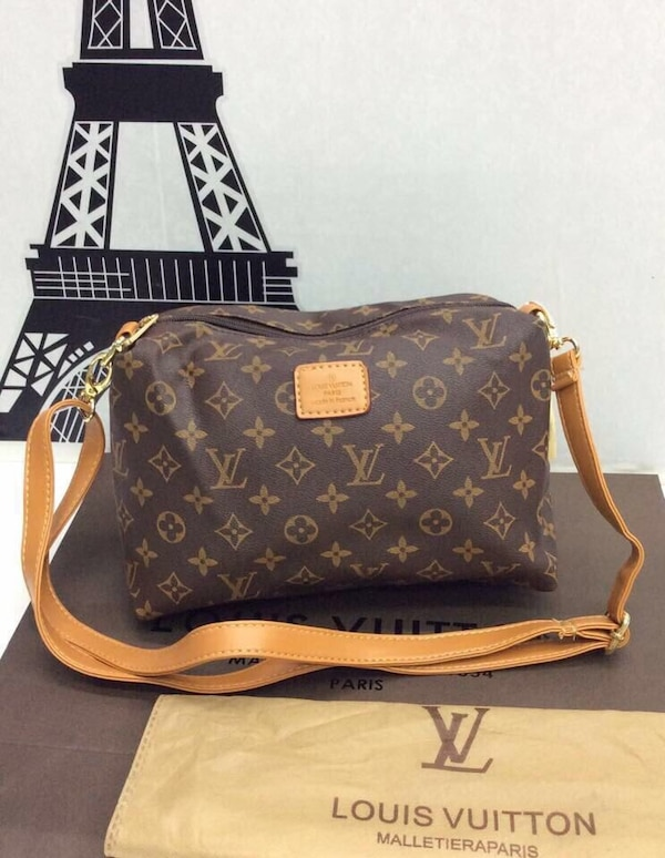 6daf28d2d173 Used brown Louis Vuitton crossbody bag for sale in Stanmore - letgo
