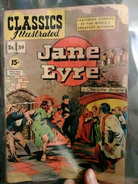 Classics illustrated jane eyre Reading, 19602