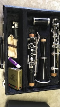 black and gray clarinet in box Grand Chute, 54913