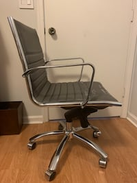 Modern Grey Desk Office Chair Rolling Fort Lauderdale, 33301