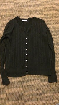 Knitted black button cardigan Gulfport