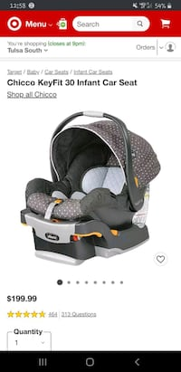 Chicco Keyfit 30 Lilla Infant carseat