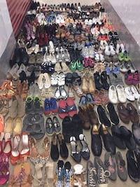 #2) Lot of 265 pairs of mixed shoes  Hyattsville, 20782
