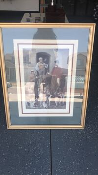 brown wooden framed painting of people Widefield, 80911