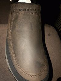 pair of brown leather slip on shoes Gaithersburg, 20884