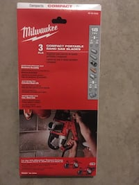 Milwaukee bandsaw blades 3 pack Lincoln, L0R