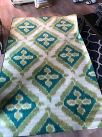 Blue and green rug 8ft x 5ft Covina, 91722