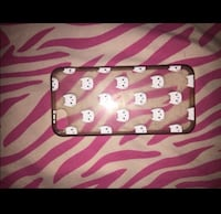 pink and white leather wristlet District Heights, 20747