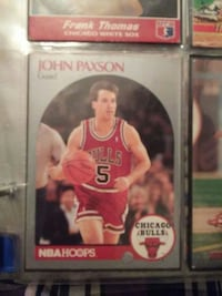 John Paxson Chicago Bulls player card Pasadena, 77506