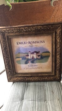 Emilio-Romagna picture with nice gold frame 17x17 Silver Spring, 20905