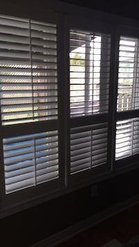 White three panel shutters for sale Vaughan