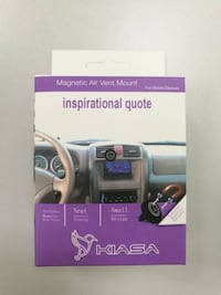 Car mount for cell phone with inspirational quote, the best gift for christmas