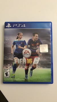 FIFA 16 PS4 game case Woodbridge, 22192