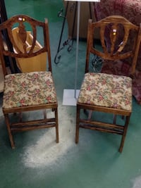 Chairs (2 for $80) WHITEROCK