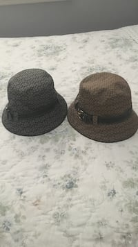two black and gray fedora hats Whittier, 90606