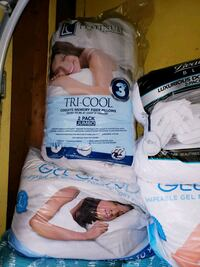 Brand new pillows! 2 pack jumbo $25 each firm Crestwood