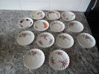 An array of tea cup saucers all for $5 PU Morinville Morinville