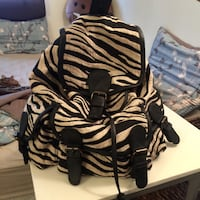Zebra print backpack Bloomington, 47401