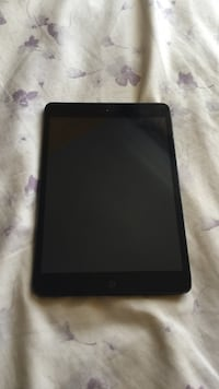 black iPad with black case Fords, 08863