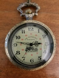 Beautiful vintage wind-up pocket watch Victoria, V9A 6A6