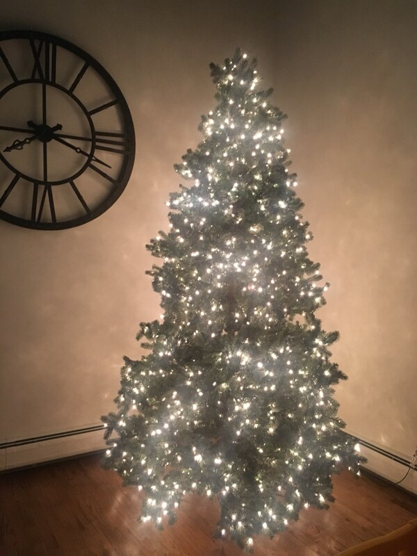 Frontgate Christmas Trees.Frontgate 9 Foot Christmas Tree With Stand Lights And Star Love It We Just Have 20 Foot Ceilings Now Do Have To Sell And Go Bigger Was 2200