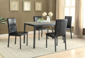Garza 5 Piece Dining Set  **** FREE DELIVERY *** WE OFFER FINANCING