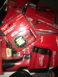 red Milwaukee cordless power drill Silver Spring, 20904