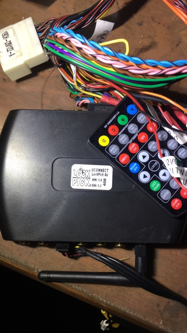UConnect system for Chrysler's and Dodge