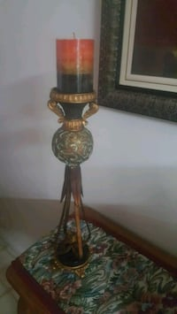 brown and black table lamp Provo