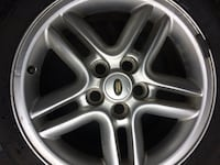 Land Rover spare rim and tire  Toronto, M6N 4P9