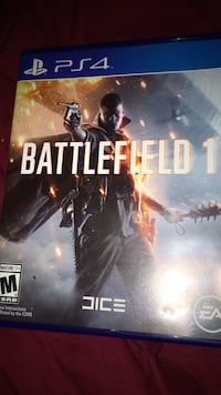 Battlefield 1 Xbox One game case Washington, 20024