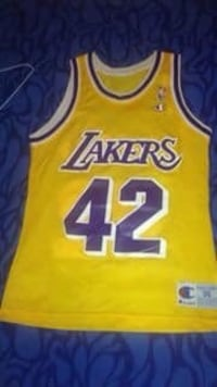 Vintage Lakers James Worthy Jersey (size 36) , 11373