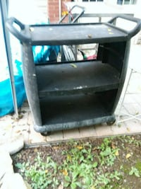 Hard plastic rolling cart good for the garage $30 Hagerstown