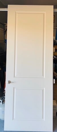 Two 8 foot interior French doors