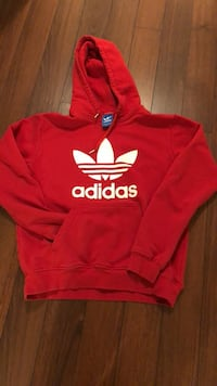 red and white Adidas pullover hoodie Toronto, M5P 2Y4