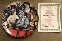 Zoe Stokes Limited Edition Cat Plate  Chino Hills, 91709