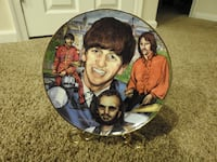 Ringo Starr Decorative plate. Purcellville