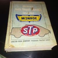 Chilton's Auto Repair Manual 1954-1963  Edmonton, T6X 1G7